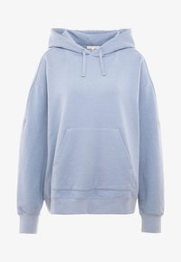 Filippa K - HOODED - Bluza z kapturem - misty blue - 3