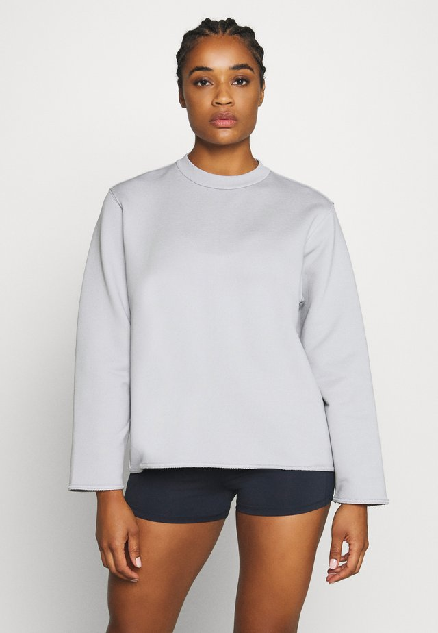 ZIP  - Sweatshirt - cloud