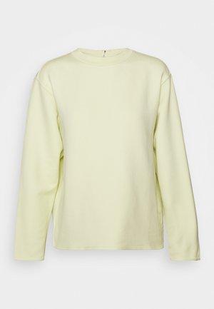 ZIP  - Sweatshirt - acid lime