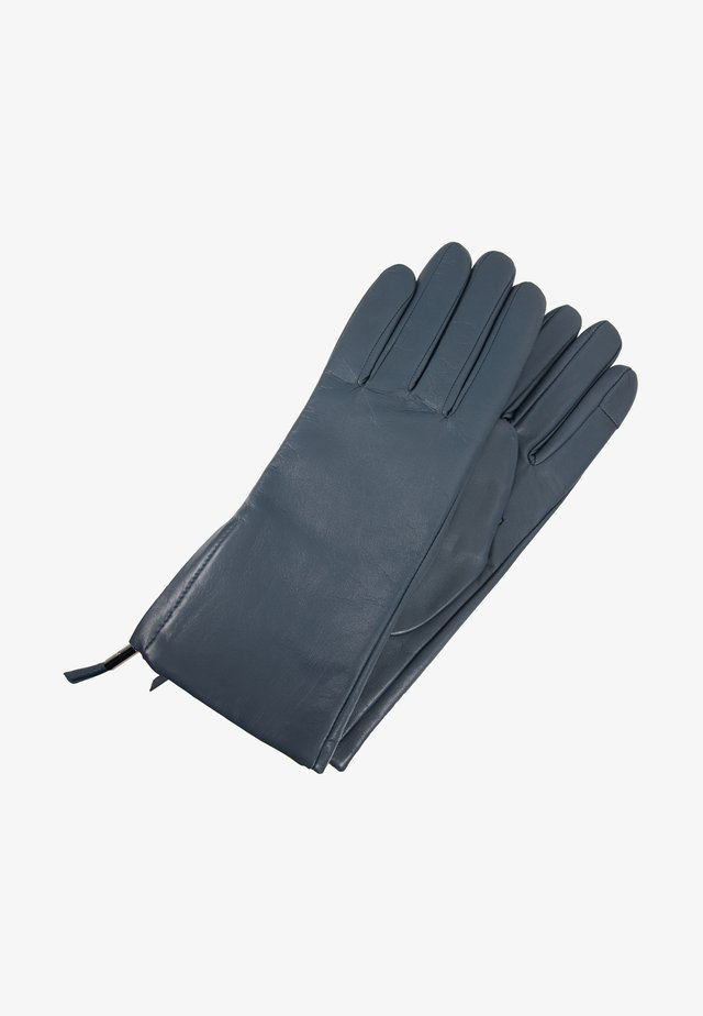 ZIP GLOVES - Gants - blue slate