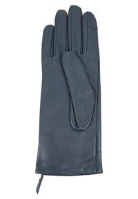 Filippa K - ZIP GLOVES - Gloves - blue slate - 3