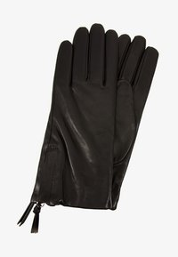 Filippa K - ZIP GLOVES - Hansker - black - 1