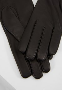 Filippa K - ZIP GLOVES - Hansker - black - 4