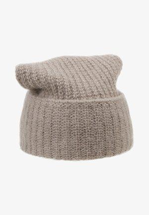 CLAIRE BLEND - Bonnet - dark taupe