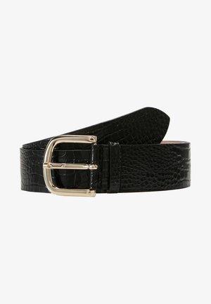 WIDE BELT - Belt - black