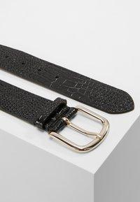 Filippa K - WIDE BELT - Belte - black - 2