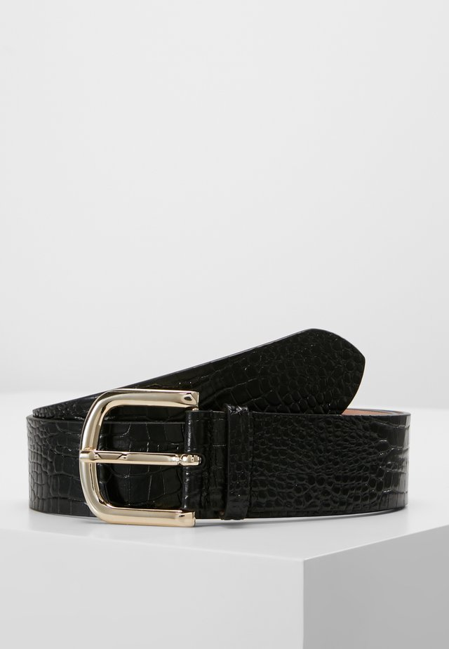 WIDE BELT - Ceinture - black