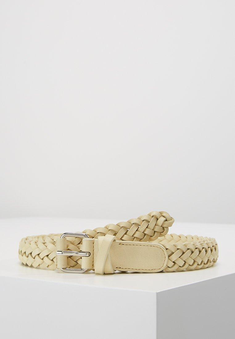 Filippa K - BRAIDED HIP BELT - Belt - vanilla
