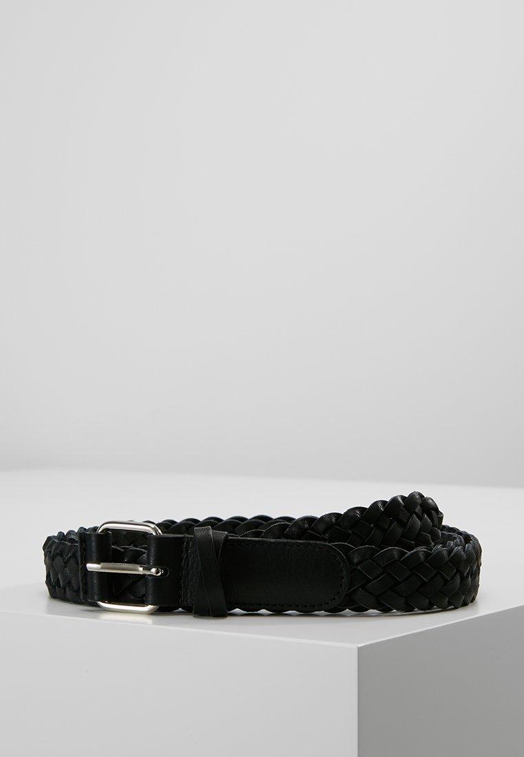 Filippa K - BRAIDED HIP BELT - Cinturón - black