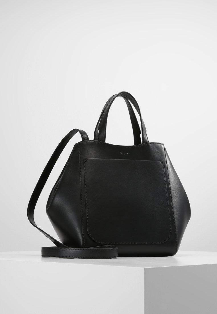 Filippa K - SHELBY MINI BUCKET  - Handtasche - black