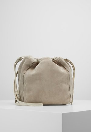 LENA SOFT BUCKET BAG - Schoudertas - ligth taupe