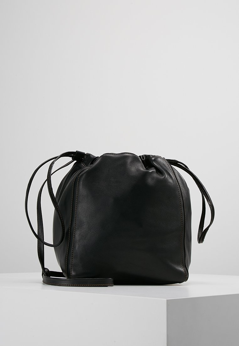Filippa K - LENA SOFT BUCKET BAG - Bandolera - black