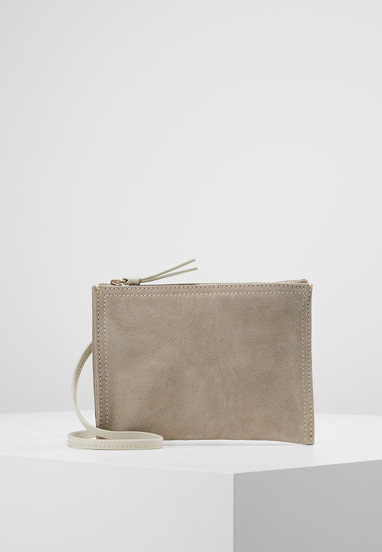 Filippa K - ALLISON ZIP POUCH - Across body bag - light taupe
