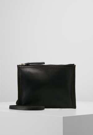 ALLISON ZIP POUCH - Sac bandoulière - black