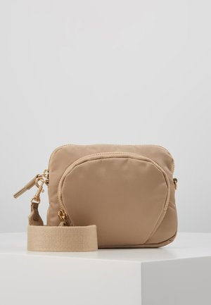 MINI BAG - Bandolera - warm taupe
