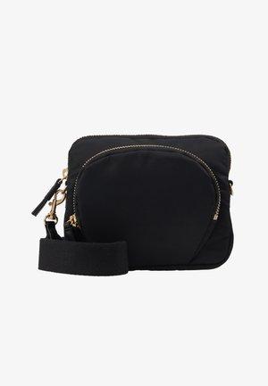 MINI BAG - Taška spříčným popruhem - black