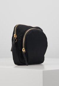 Filippa K - MINI BAG - Taška spříčným popruhem - black - 3