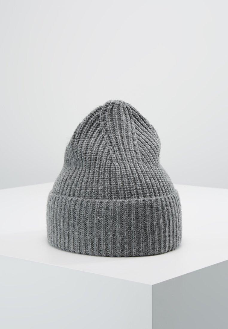 Filippa K - SOFT BEANIE - Czapka - grey melange