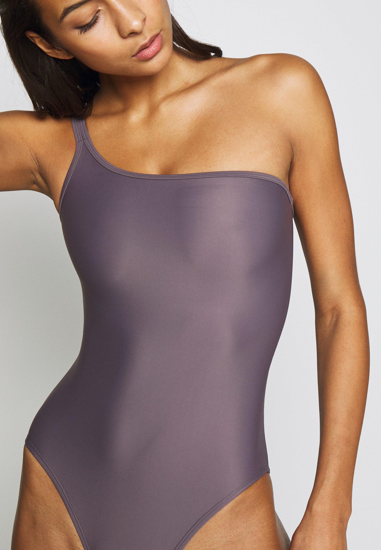 Filippa K Asymmetric Swimsuit - Baddräkt Mauve