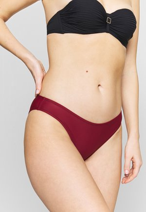 CLASSIC SHINY BRIEF - Bikini bottoms - pure red