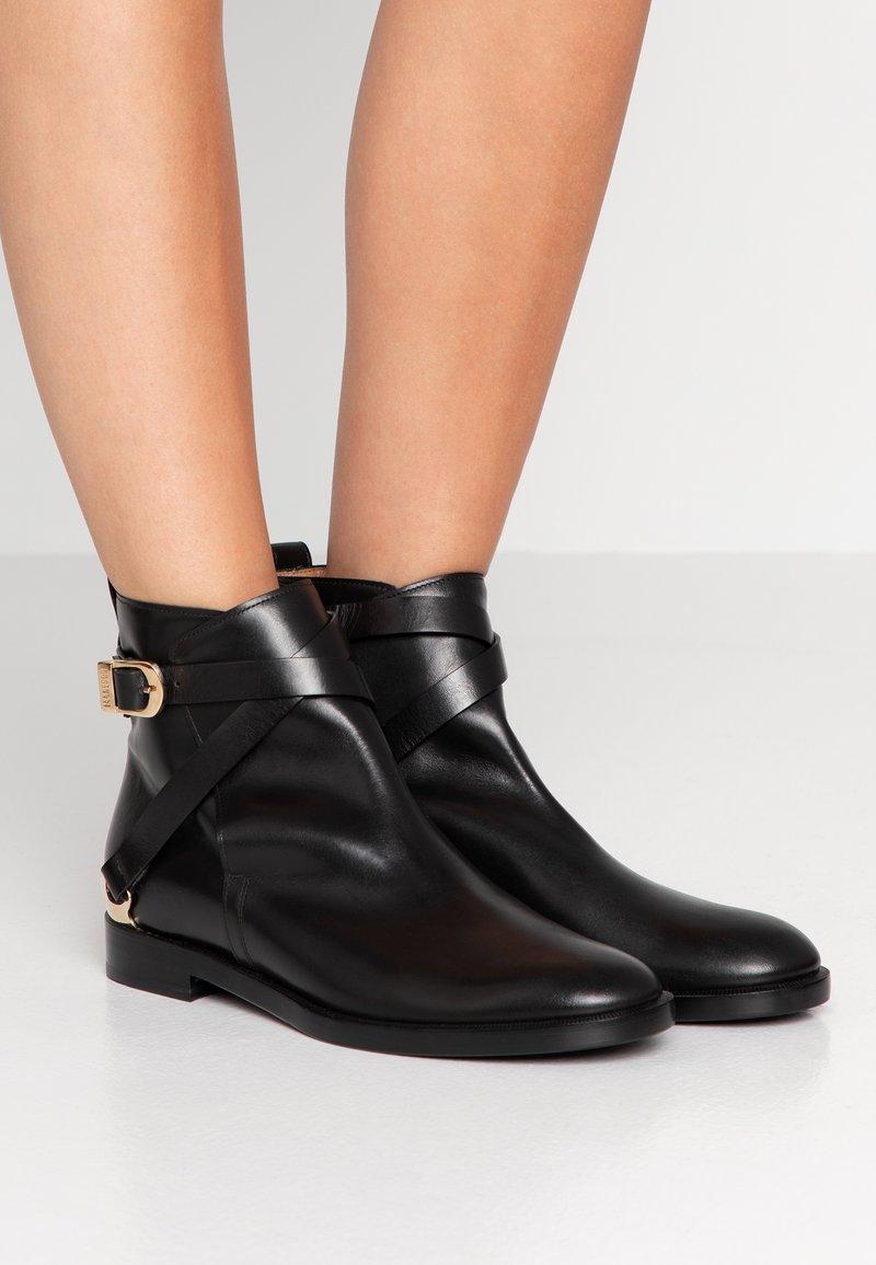 Fratelli Rossetti - Cowboy/biker ankle boot - nero