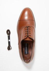 Fratelli Rossetti - Elegantní šněrovací boty - mandorla - 5