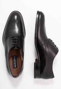 Fratelli Rossetti - Elegantní šněrovací boty - nero - 1