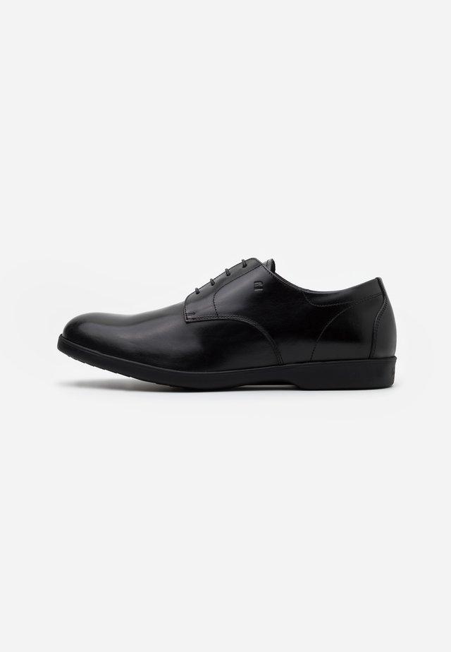 Volnočasové šněrovací boty - gelvest nero