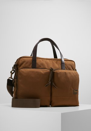 DRYDEN BRIEFCASE - Aktovka - whiskey