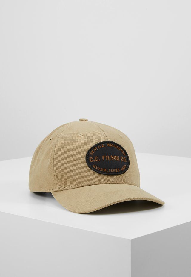LOGGER CAP - Cappellino - beige