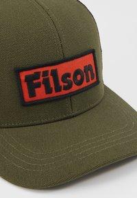 Filson - LOGGER CAP - Cappellino - olive - 3