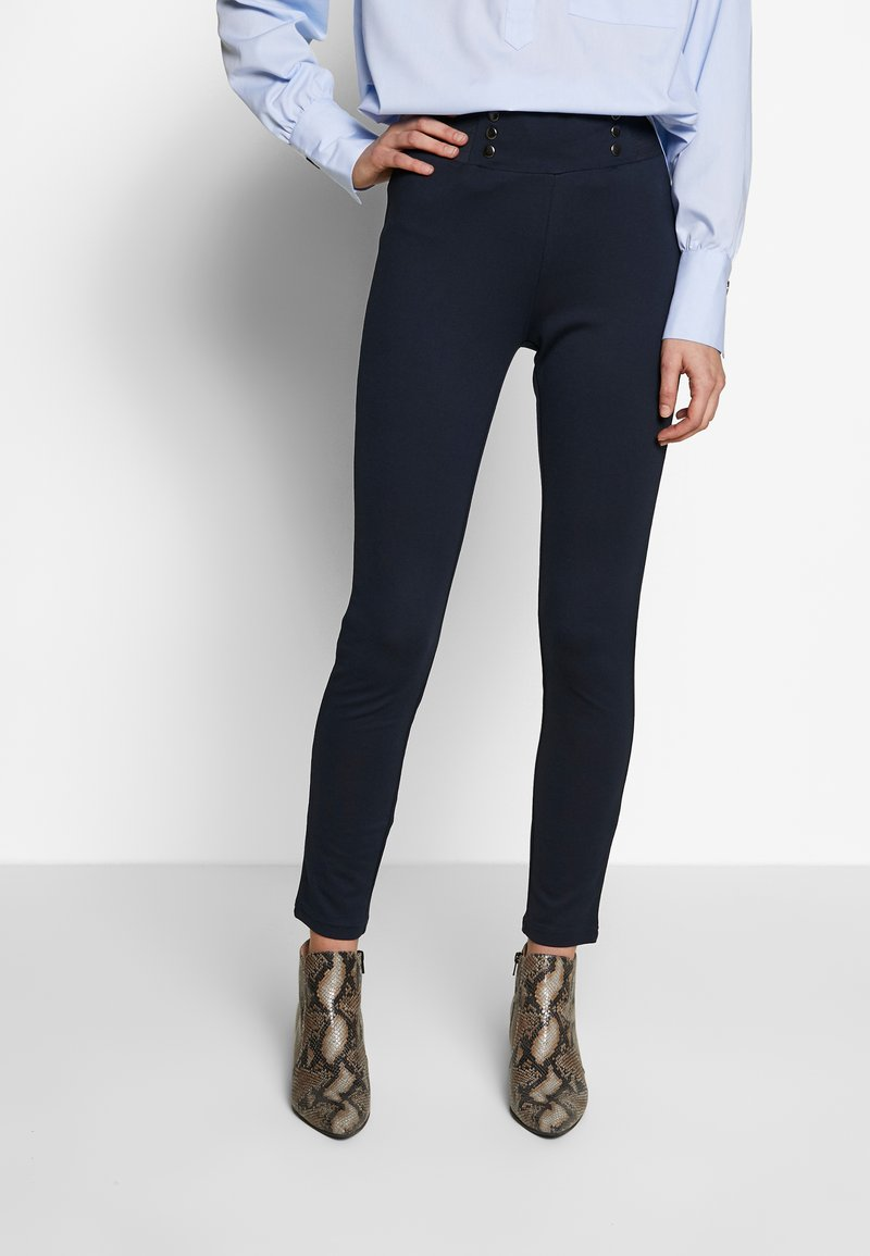 Fransa - FRHISTRETCH - Leggings - Trousers - dark peacoat