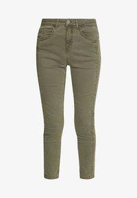 Fransa - FRIVZIP PANTS - Jeans Skinny Fit - hedge - 3