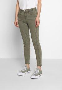 Fransa - FRIVZIP PANTS - Jeans Skinny Fit - hedge - 0