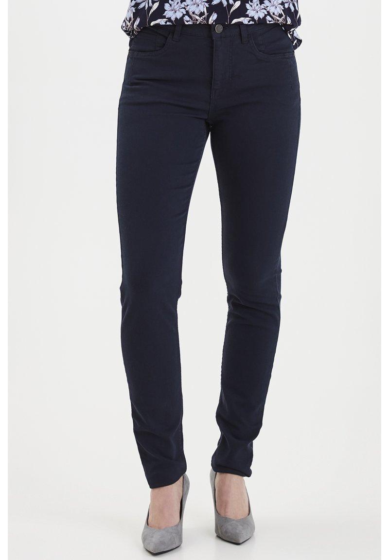 Fransa - FRHASNAP - Jeans Slim Fit - dark peacoat