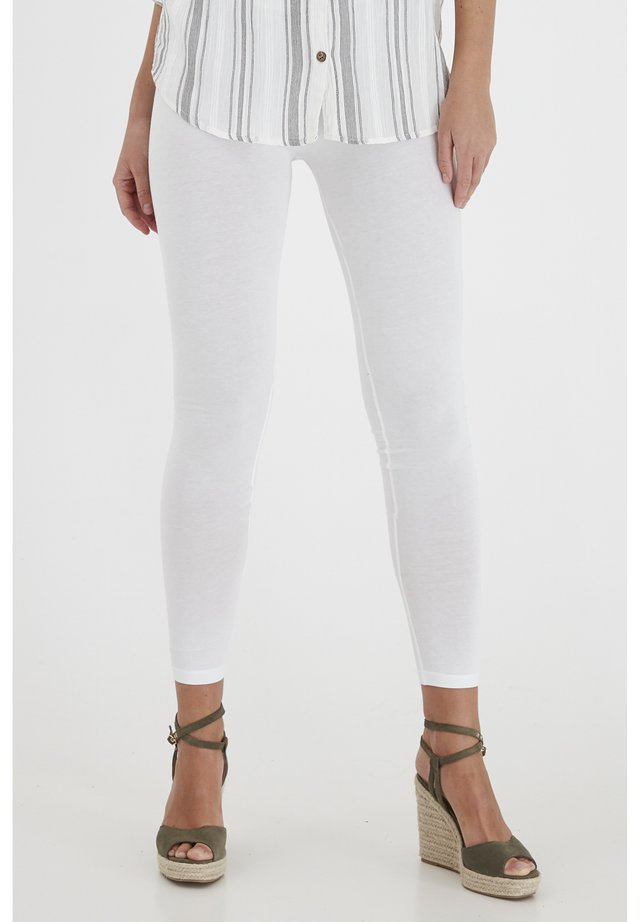 FRANSA KOKOS 1 LEGGINGS - Leggings - (noos) white