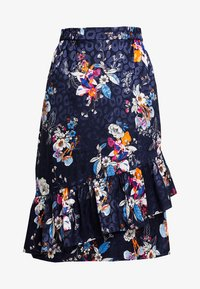 Fransa - SKIRT - Áčková sukně - maritime blue mix - 4