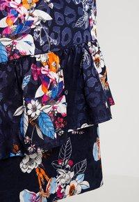 Fransa - SKIRT - Áčková sukně - maritime blue mix - 5