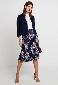 Fransa - SKIRT - Áčková sukně - maritime blue mix - 2