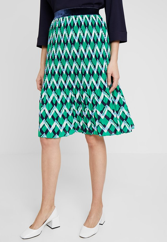 SKIRT - A-Linien-Rock - jolly green mix