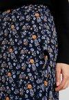 Fransa - FRESCOUNTRY SKIRT - Zavinovací sukně - black mix