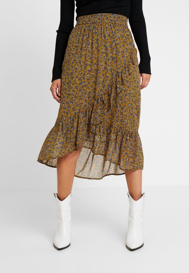 FRFACHIF SKIRT - A-line skirt - tapenade