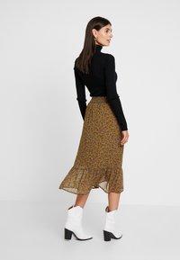 Fransa - FRFACHIF SKIRT - A-line skirt - tapenade - 2