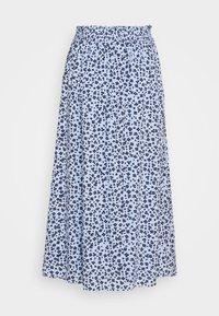 Fransa - FRJAPETITE SKIRT - Maxi sukně - placid blue mix - 1