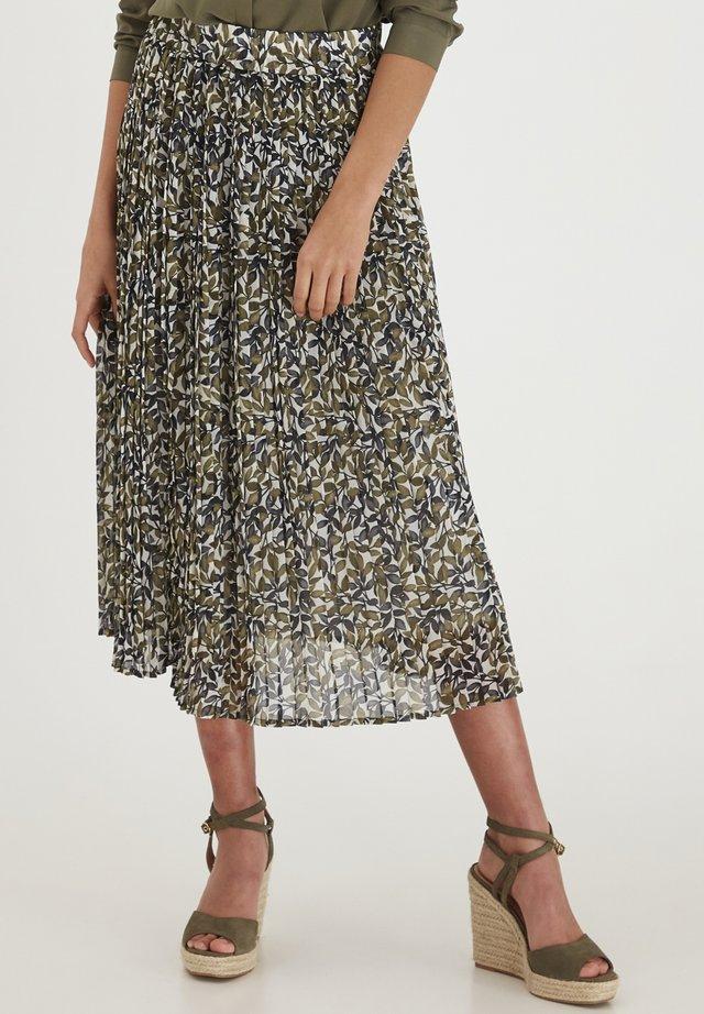 Spódnica trapezowa - hedge mix