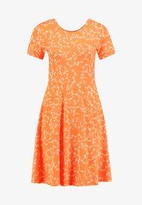 Fransa - FRDIDOT DRESS - Sukienka z dżerseju - nasturtium - 3