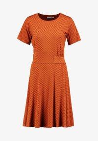 Fransa - FREMDOTTON DRESS - Jerseykjole - metallic red - 4