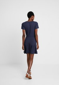 Fransa - FREMDOTTON DRESS - Jersey dress - maritime blue mix - 2