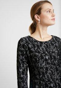 Fransa - DRESS - Jerseykjole - black mix - 4