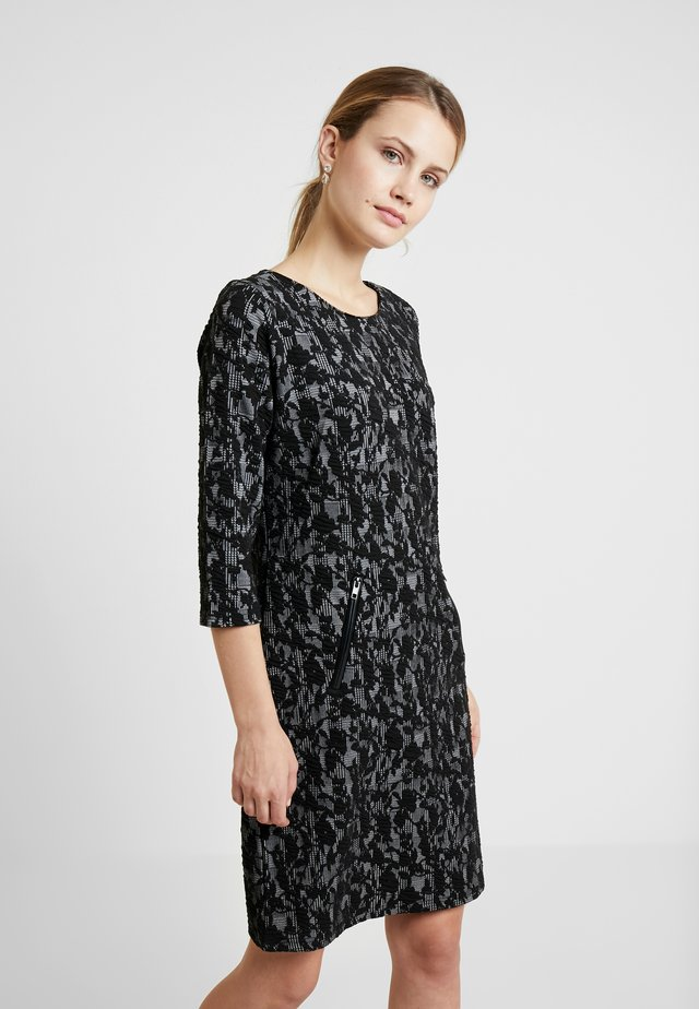 DRESS - Jerseykjole - black mix